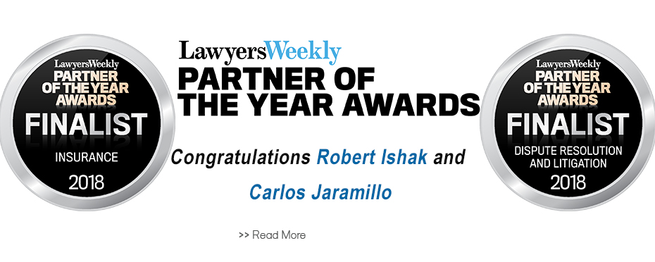 Home Slider - Press Release - Lawyers Weekly Partner of the Year 2018.jpg